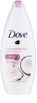 Dove Purely Pampering Coconut Milk gel de ducha nutritivo