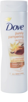 Dove Purely Pampering Shea Butter leite corporal nutritivo