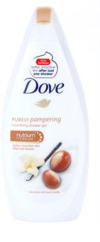 Dove Purely Pampering Shea Butter gel de ducha nutritivo