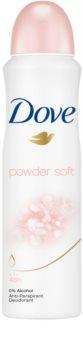 Dove Powder Soft antiperspirant v spreji