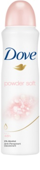 Dove Powder Soft spray anti-transpirant