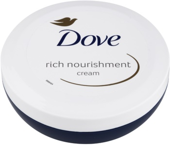 Dove Rich Nourishment crème pour le corps nourrissante 200 ml pour un effet naturel