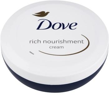 Dove Rich Nourishment hranilna krema za telo 200 ml z vlažilnim učinkom