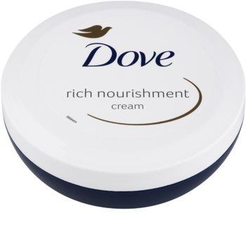Dove Rich Nourishment výživný telový krém 200 ml s hydratačným účinkom