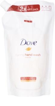 Dove Silk Fine savon liquide mains recharge
