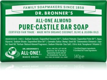 Dr. Bronner's Almond sabonete sólido