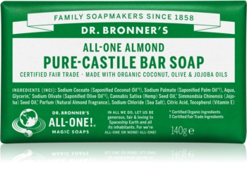Dr. Bronner's Almond Μπάρα σαπουνιού