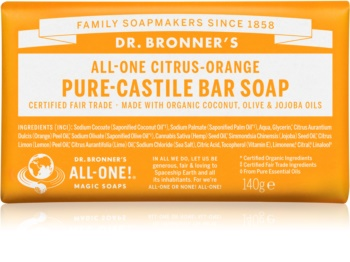 Dr. Bronner's Citrus & Orange savon solide