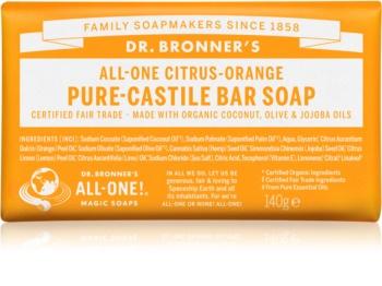 Dr. Bronner's Citrus & Orange твердое мыло