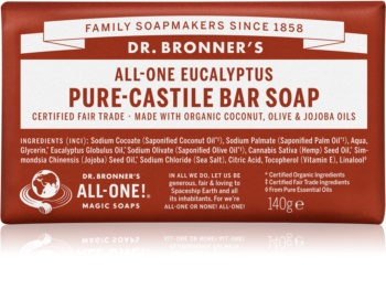 Dr. Bronner's Eucalyptus tuhé mýdlo
