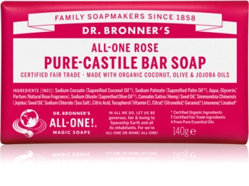 Dr. Bronner's Rose sapone solido