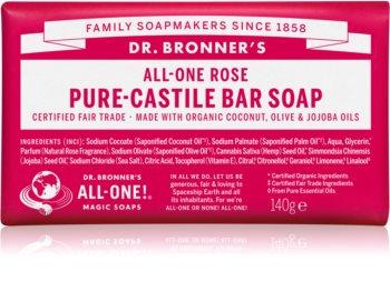 Dr. Bronner's Rose твердое мыло
