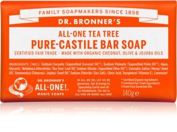 Dr. Bronner's Tea Tree sabonete sólido