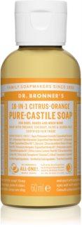 Dr. Bronner's Citrus & Orange sabonete líquido universal