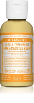Dr. Bronner's Citrus & Orange tekuté univerzálne mydlo