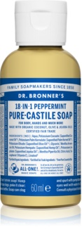 Dr. Bronner's Peppermint savon liquide universel