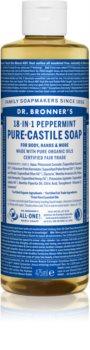 Dr. Bronner's Peppermint жидкое универсальное мыло