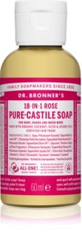Dr. Bronner's Rose sabonete líquido universal