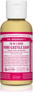 Dr. Bronner's Rose tekuté univerzálne mydlo