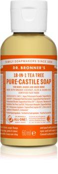 Dr. Bronner's Tea Tree жидкое универсальное мыло