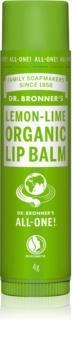 Dr. Bronner's Lemon & Lime balsamo labbra