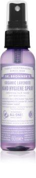 Dr. Bronner's Lavender spray oczyszczający bez spłukiwania do rąk