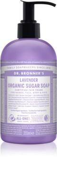Dr. Bronner's Lavender folyékony szappan testre és hajra