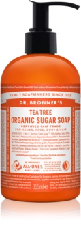 Dr. Bronner's Tea Tree Liquid Soap for Body and Hair