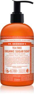 Dr. Bronner's Tea Tree рідке мило для тіла та волосся