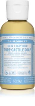 Dr. Bronner's Baby-Mild folyékony univerzális szappan parfümmentes