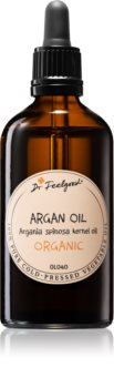 Dr. Feelgood BIO and RAW huile d'argan cosmétique visage, corps et cheveux