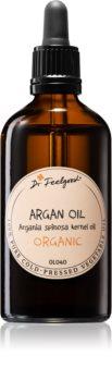 Dr. Feelgood BIO and RAW olio cosmetico di argan per viso, corpo e capelli