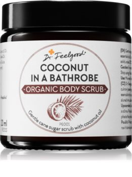 Dr. Feelgood BIO cukrový peeling s kokosovým olejom