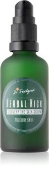 Dr. Feelgood Herbal Kick siero ringiovanente bifasico per pelli mature