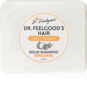 Dr. Feelgood Sweet Orange șampon organic solid