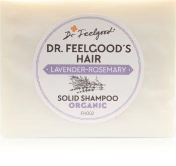 Dr. Feelgood Lavender & Rosemary органічний твердий шампунь