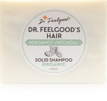 Dr. Feelgood Bergamot-Patchouli organický tuhý šampón