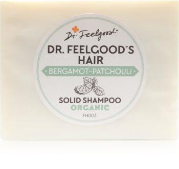 Dr. Feelgood Bergamot-Patchouli șampon organic solid