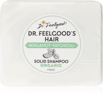 Dr. Feelgood Bergamot-Patchouli shampoing solide bio