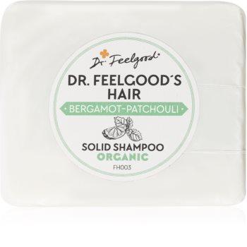 Dr. Feelgood Bergamot-Patchouli органический твердый шампунь