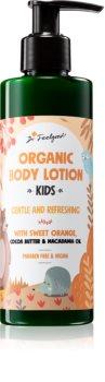 Dr. Feelgood Kids Sweet Orange frissítő testápoló tej