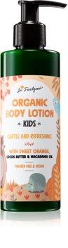 Dr. Feelgood Kids Sweet Orange Opfriskende kropslotion