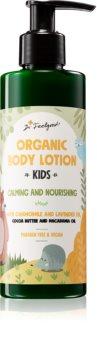 Dr. Feelgood Kids Chamomile & Lavender zklidňující tělové mléko s heřmánkem