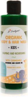 Dr. Feelgood Kids Chamomile & Lavender upokojujúci sprchový gél s harmančekom