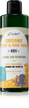 Dr. Feelgood Kids Chamomile & Lavender zklidňující sprchový gel s heřmánkem