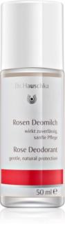 Dr. Hauschka Body Care ružový dezodorant roll-on