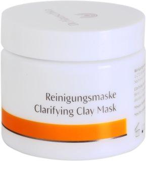 Dr. Hauschka Facial Care máscara facial de limpeza iluminadora de barro