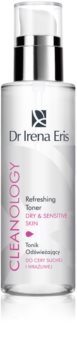 Dr Irena Eris Cleanology освежаващ тоник за чувствителна и суха кожа