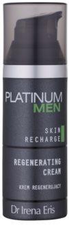 Dr Irena Eris Platinum Men 24 h Protection crème de nuit régénératrice pour peaux fatiguées
