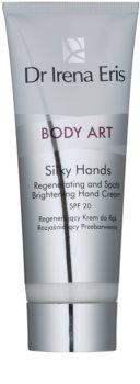 Dr Irena Eris Body Art Silky Hands krem regeneracyjny do rąk przeciw przebarwieniom skóry